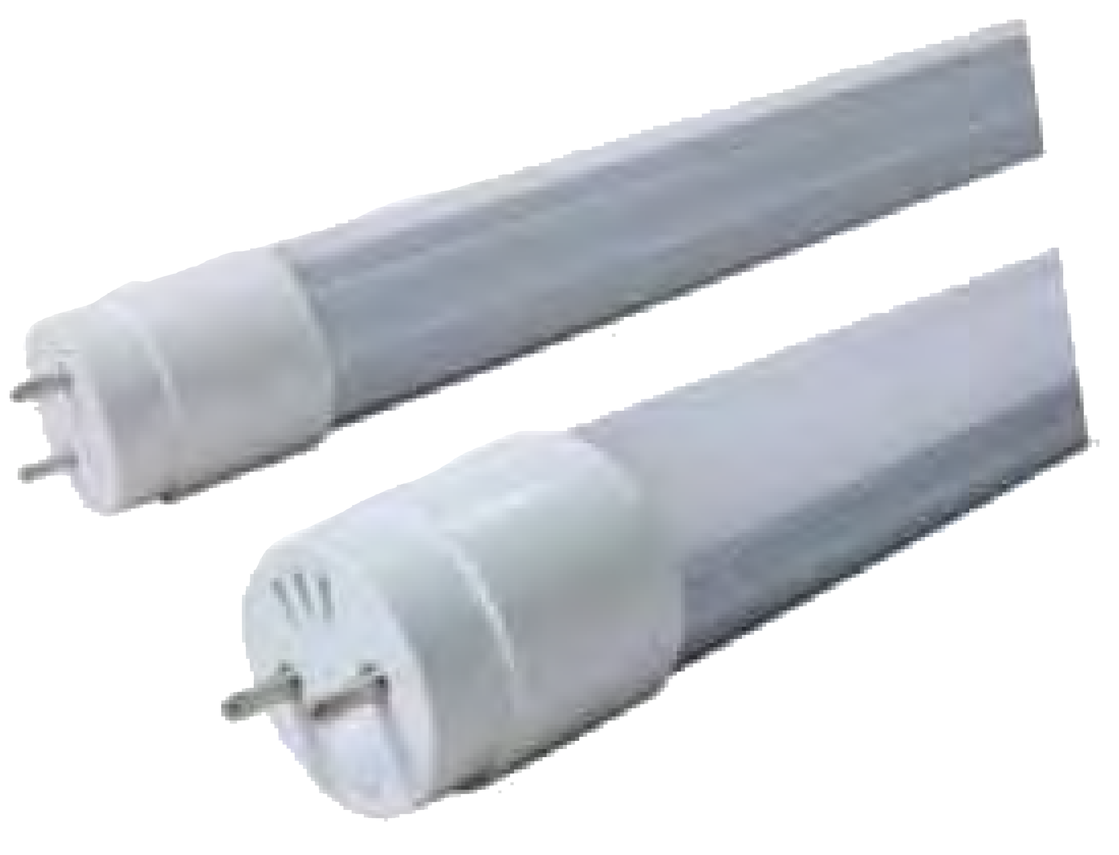 LED tube with Al heat sink and rotating pin holder Image