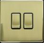 MLE5021: 10A 2 gang 1 way switch Image