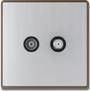 MIM6843 TV+ Satellite Socket Image