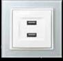 MRO3622: 2V, 5DC Double USB socket Image
