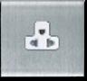 MT5235: Euro-American 16A, single unswitch socket Image