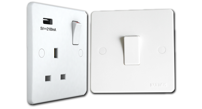 MAXIMUS aspire Switch Sockets UAE